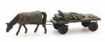 316051 Artitec Coal Cart with Horse